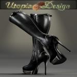 __UTOPIA@Design__ - logo - Elisabetta Hyun - v01